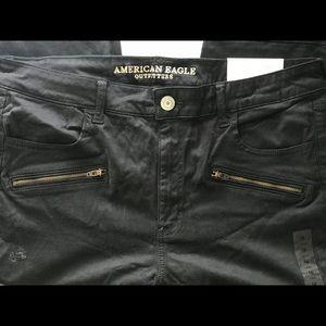 American Eagle Motto Jean